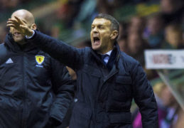 Dundee manager, Jim McIntyre