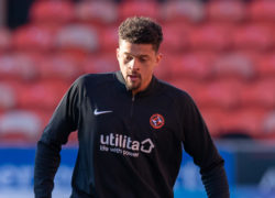 Osman Sow happy to wait for his chance at Dundee United