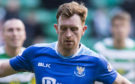 Liam Craig in action for St Johnstone.