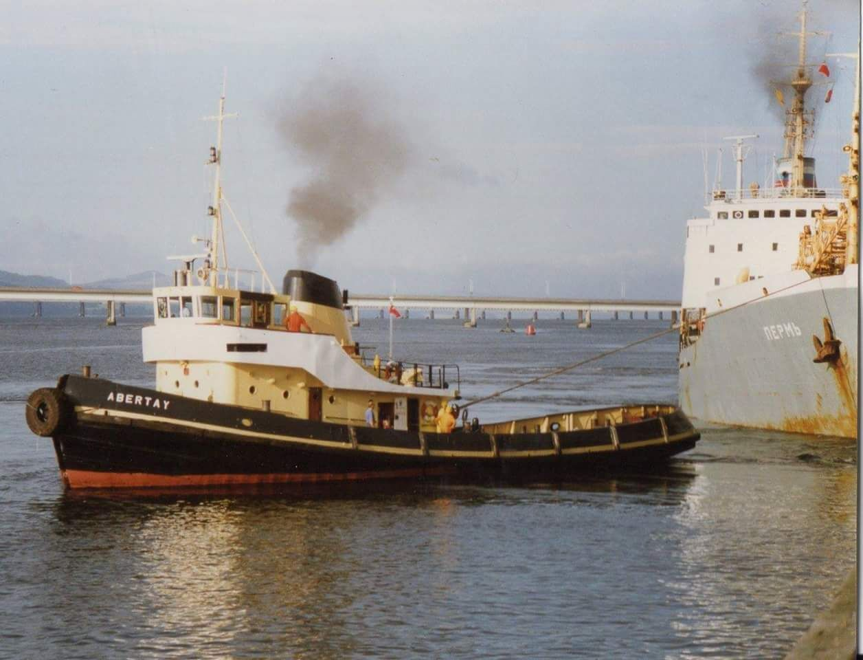 Helpers sought to restore former Dundee tug boat