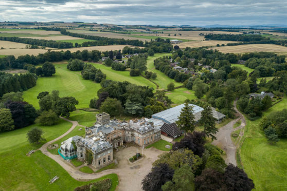 Letham Grange golf course.