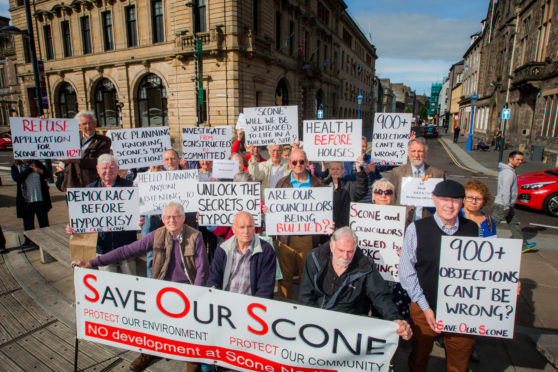 Critics say local democracy can be overruled when planning applications go to government reporters. (library photo)