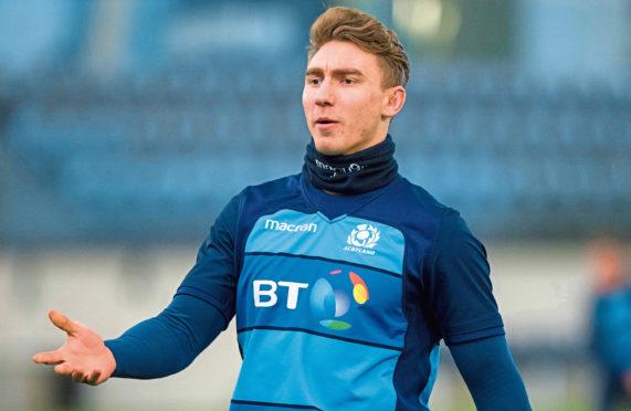 Scotland's Jamie Ritchie.