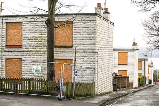 Existing flats in Ellengowan Road have been condemned for demolition.