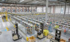 The Amazon distribution centre in Dunfermline. Tay Cities Business Week will include a workshop on using the Amazon marketplace.