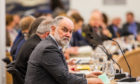 Council leader Murray Lyle during Perth and Kinross Council budget talks