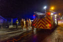 Fire at former primary school in Crieff
