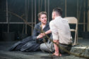 Amy Kennedy as Anne Deever, Daniel Cahil as Chris Keller in All My Sons. Photo: Ga-Ken Wan
