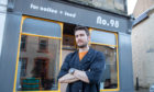 Jim Boyd who owns cafe Number 98 in Kinross and was broken into on Sunday night