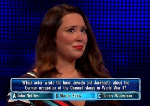 Candice struggled against Chaser Shaun Wallace