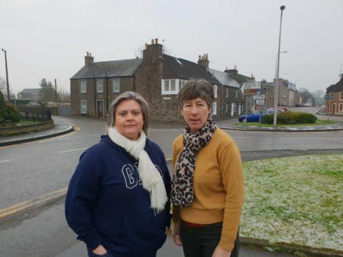 Councillor McCall and Liz Smith MSP