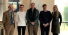 Business, enterprise and tourism director Bryan McCabe, Craig Duncan, James Hutt, William Garner, Gaynor Jamieson