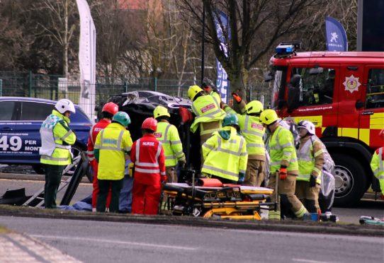 Emmock Road crash.