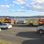 Emergency services pull man from River Tay in Dundee