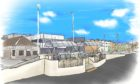 How one of the Kirkcaldy Esplanade viewing platforms could look as part of the waterfront regeneration