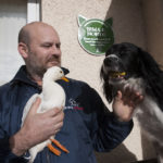 Recognition for dog and duck who supported Perthshire veteran through tough times