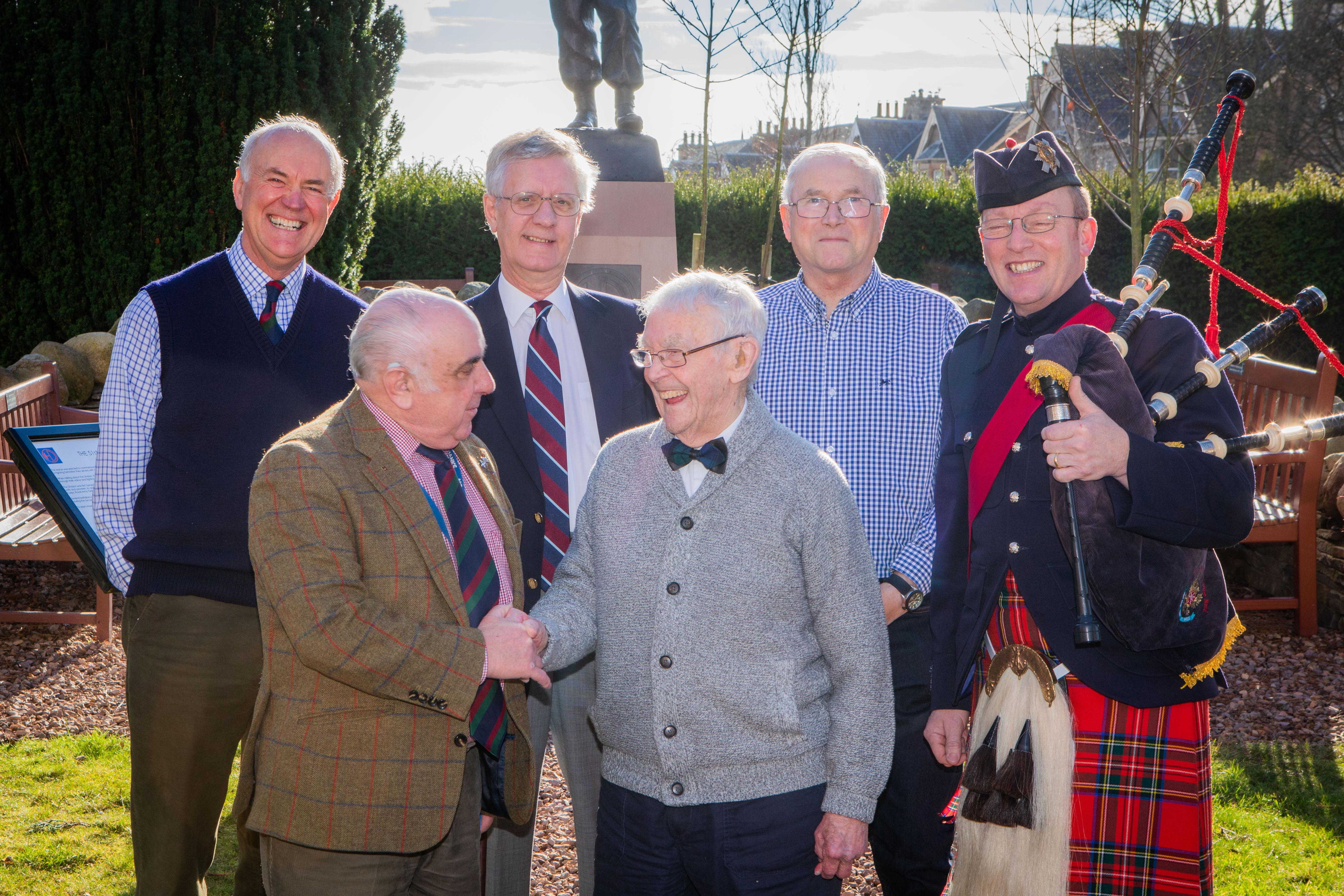 100-year-old Black Watch sergeant remembers daring wartime