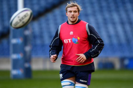 Jonny Gray returns to the Scotland team against Ireland.