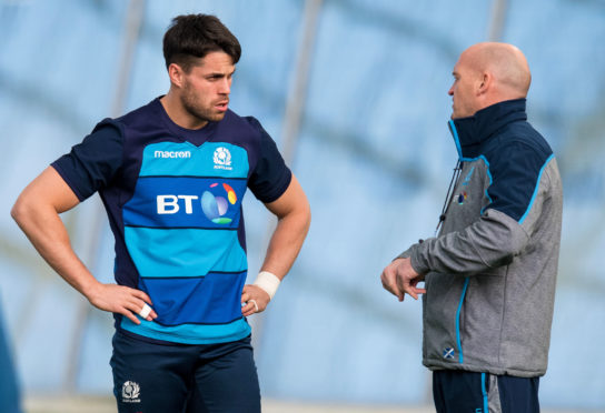 Sean Maitland has been restored to the Scotland team by Gregor Townsend.