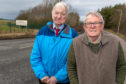 Willie Clarke and Brian Menzies in Glencraig