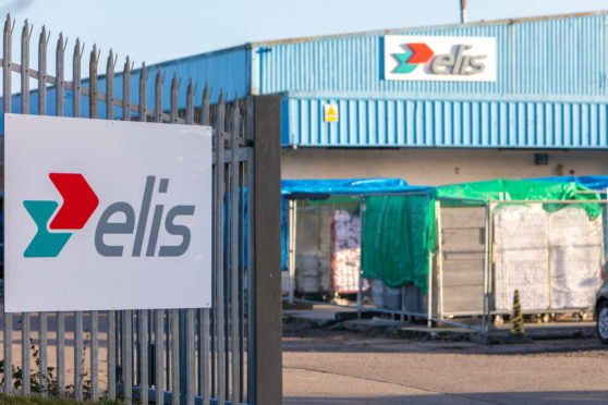 The site in Kirkcaldy's Randolph Industrial Estate.