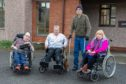 Service users Alan Johnstone, Shonagh Barrie, Vincent Sullivan and Elsa Gilfillan