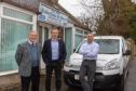 Roberton & Smart directors James Smart, Stewart Smart and Lindsay Urquhart at their offices in Ceres, Fife.