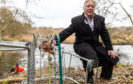 Friends of Riverside Park treasurer Peter Duff at the scene