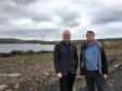 Mark Ruskell MSP, left, with local campaigner Dave Batchelor