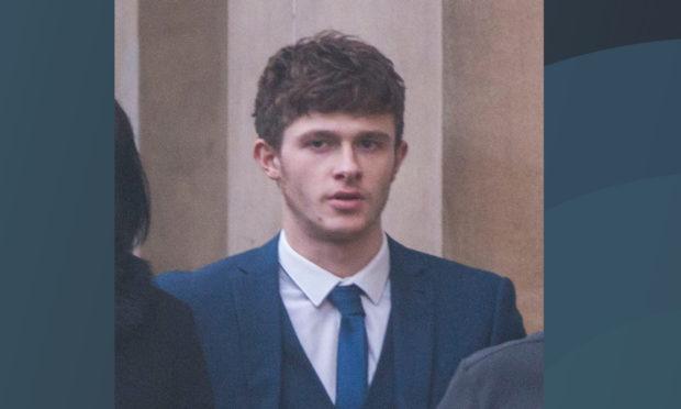 Matthew Jamieson at Dundee Court.