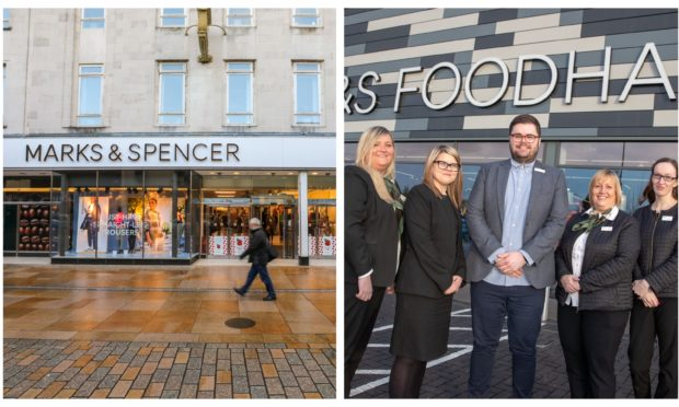 Kirkcaldy's M&S is closing as Glenrothes' Foodhall is opening.
