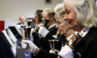 The Parish of Dunkeld Handbell Ringers.