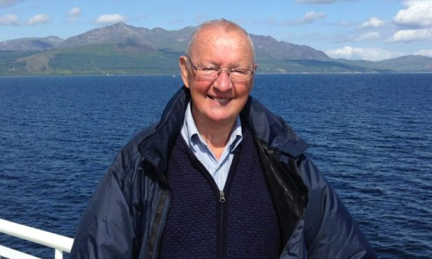 Former Lord Provost Mervyn Rolfe, who has died at the age of 71.