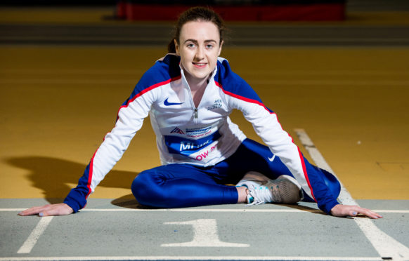 Laura Muir took gold in the 3000m in Glasgow