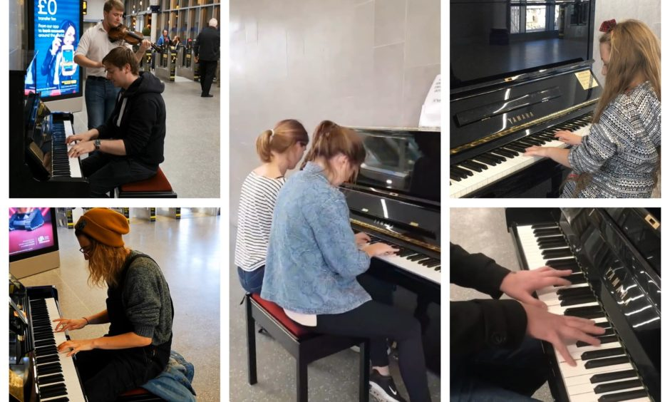 This footage of the People's Piano in Dundee being played shows why it has won the city's heart
