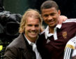 Osman Sow and Robbie Neilson.
