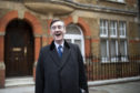 Brexiteer Jacob Rees-Mogg seems happy. Even if the rest of the country is in turmoil.