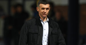 """Claims relegation-threatened players have given up is """"absolute bulls**t"""" says Dundee boss Jim McIntyre"""