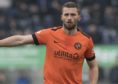 Pavol Safranko in action for Dundee United