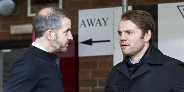 Stevie Crawford (left) and Robbie Neilson.