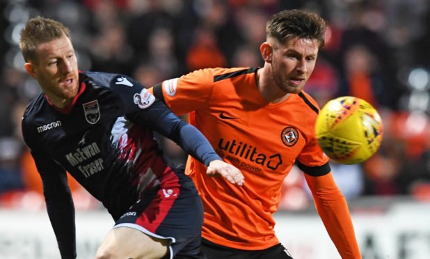 Dundee United's Calum Butcher.