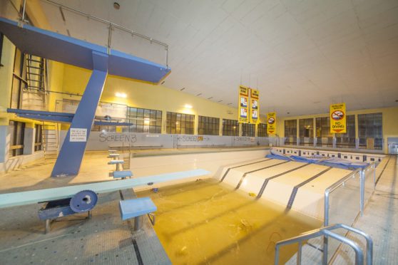 The old Montrose pool