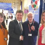 Ninewells Hospital says 'Happy 90th birthday' to inspirational welcome desk volunteer John