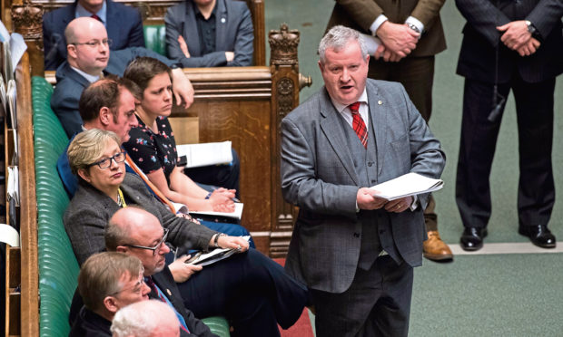 The party's Westminster leader Ian Blackford has led SNP resistance to Brexit in the Commons.