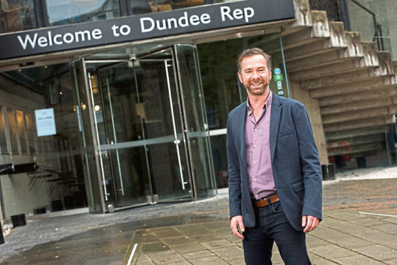Dundee Rep artistic director Andrew Panton.