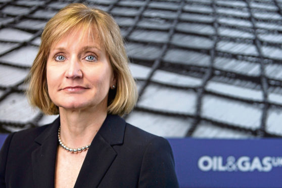 Oil and Gas UK chief executive Deirdre Michie