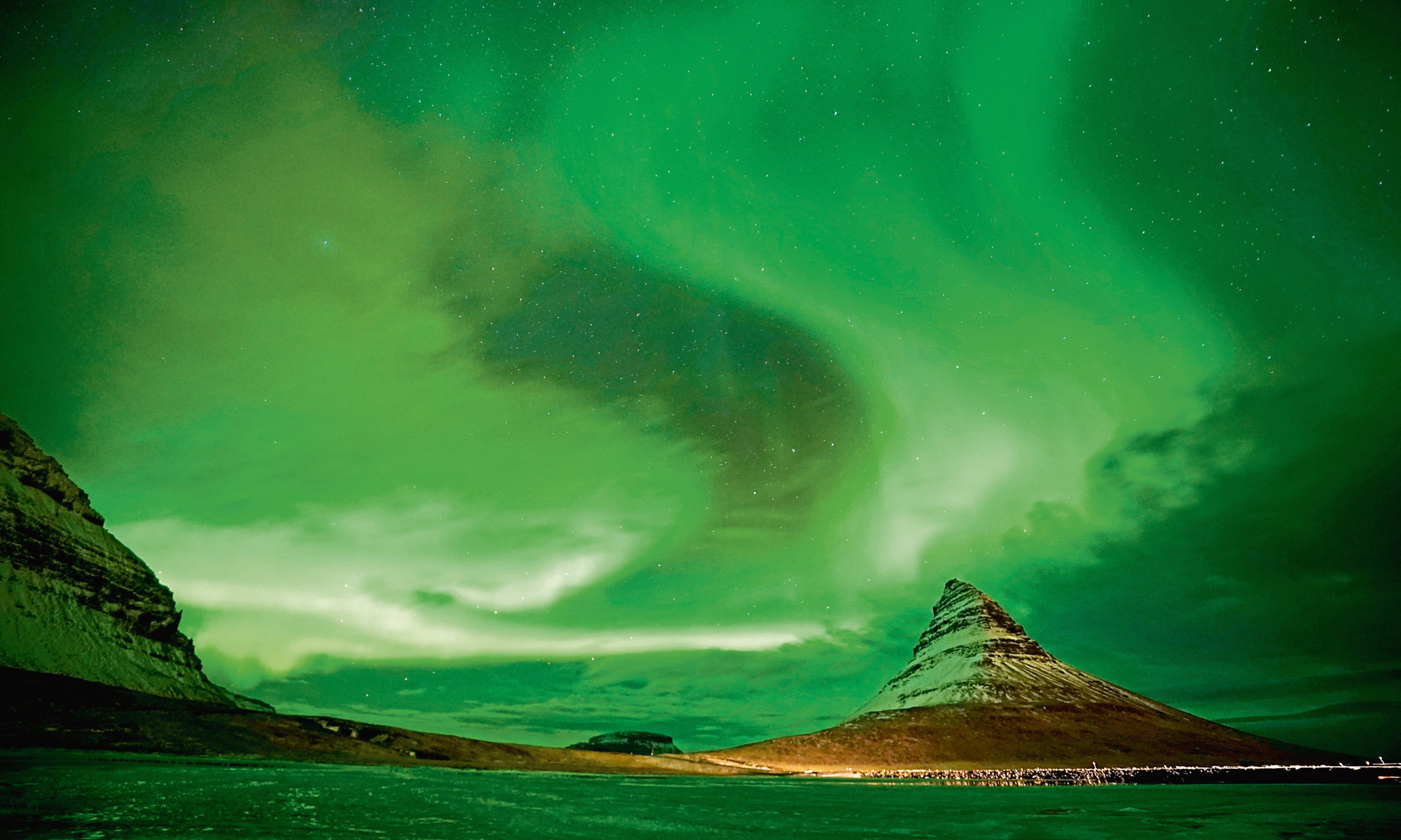 Geomagnetic storms could bring Northern Lights displays to Tayside