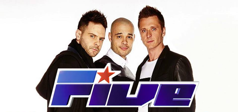 Man alive! 90s boyband 5ive are coming to the bingo in Dundee