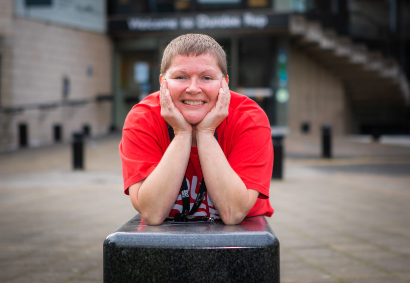 Amanda Lowson, community health and well-being associate at Dundee Rep
