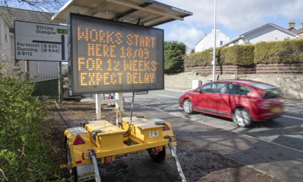 Cherrybank roadworks start again on Monday, March 18.